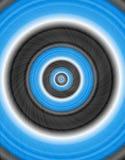 Círculo abstrato Imagem de Stock