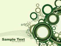 Círculo abstrato background.vector ilustração royalty free