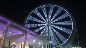 círculo bonito de luzes da roda foto de stock royalty free