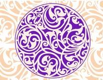 Círculo céltico ilustración del vector