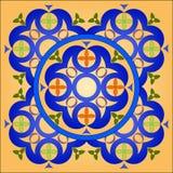 Círculo celta ilustração stock