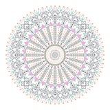 Círculo coloreado del inconformista de moda, símbolo filosófico brillante, elementos circulares que son religiosos, Fotografía de archivo libre de regalías