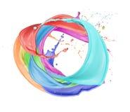 Círculo colorido Imagem de Stock Royalty Free
