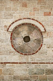 Círculo con un agujero Fotografía de archivo libre de regalías
