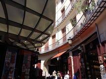 Círculo cuadrado del mercado Imagen de archivo libre de regalías
