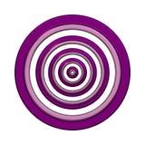 círculo 3D/anel Fotografia de Stock