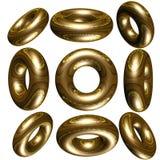 círculo 3D/anel Imagens de Stock Royalty Free