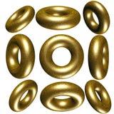círculo 3D/anel Fotografia de Stock Royalty Free