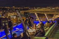 Círculo da barra das belas artes, Madri, Espanha Imagens de Stock