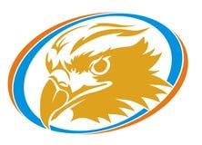 Círculo da cabeça de Eagle Imagens de Stock Royalty Free