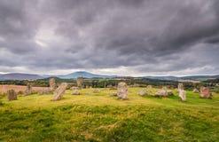 Círculo da pedra de Tomnaverie Imagens de Stock Royalty Free