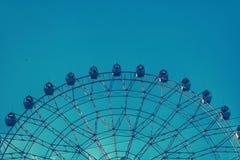 Círculo da roda de Ferris meio imagens de stock