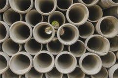 Círculo da tubulação do cimento Imagem de Stock