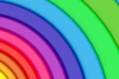 Círculo das cores fotos de stock royalty free