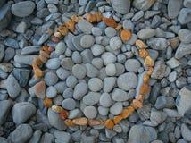 Círculo das pedras Imagem de Stock Royalty Free