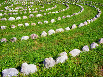 Círculo das rochas Foto de Stock Royalty Free