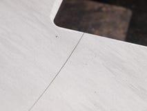 Círculo de aço inoxidável futurista, entalhe do entalhe do laser da forma Foto de Stock Royalty Free
