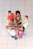 Círculo de amigos Fotos de archivo libres de regalías