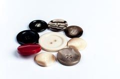 Círculo de botones Fotografía de archivo
