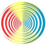 Círculo de color Imagen de archivo