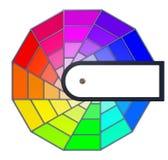 Círculo de color Fotografía de archivo