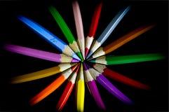 Círculo de color Foto de archivo libre de regalías