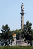 Círculo de Columbus Foto de archivo libre de regalías