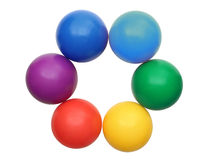 Círculo de cores Imagens de Stock Royalty Free