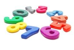 Círculo de dígitos imagen de archivo libre de regalías