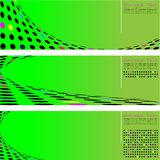 Círculo de intervalo mínimo da seta Foto de Stock