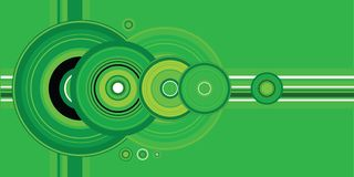 Círculo de la cosecha ilustración del vector