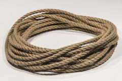 Círculo de la cuerda Fotografía de archivo libre de regalías