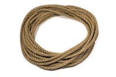Círculo de la cuerda Foto de archivo libre de regalías