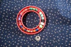 Círculo de la cuerda de rosca Foto de archivo