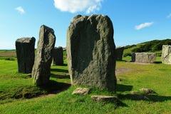 Círculo de la piedra de Drombeg, corcho del condado, Irlanda Imagen de archivo