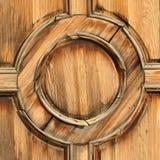 Círculo de madeira Fotografia de Stock Royalty Free