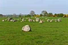 Círculo de pedra de Ballynoe Imagem de Stock