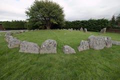Círculo de piedra Fotos de archivo