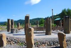Círculo de piedra del druida Foto de archivo libre de regalías