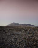 Círculo de piedra en ajaches del los y el roja de Montana Fotos de archivo libres de regalías