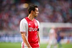 Círculo de qualificação da liga de campeões de UEFA terceiro entre Ajax contra PAO Fotos de Stock Royalty Free