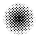 Círculo de semitono del artículo, en un fondo blanco Ilustración del vector para su agua dulce de design stock de ilustración