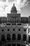 Círculo de Texas Capital Building subterrâneo imagens de stock