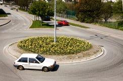 Círculo de tráfico Foto de archivo libre de regalías