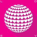 Círculo del amor Imágenes de archivo libres de regalías