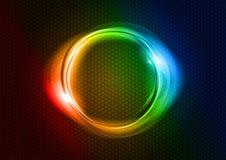 Círculo del arco iris stock de ilustración