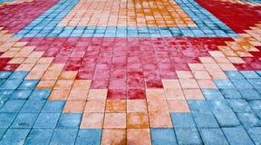 Círculo del azulejo Fotos de archivo libres de regalías