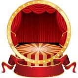 Círculo del circo Fotos de archivo libres de regalías