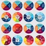 Círculo del diagrama del negocio Fotos de archivo