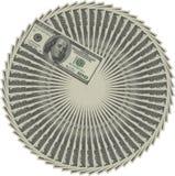 Círculo del dinero stock de ilustración